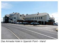 Irland - Armada Hotel in Spanish Point
