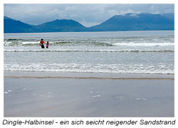 Sandstrand Dingle Halbinsel