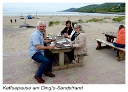 Dingle Sandstrand - Kaffeepause