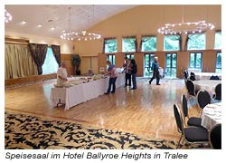 Speisesaal im Hotel Ballyroe Heights in Tralee