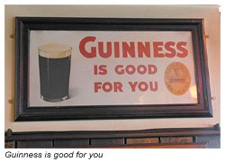 Cashel - Guinness is good for you